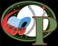 Pike City Pioneers baseball logo