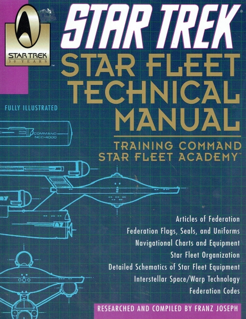 Star Trek - Starfleet Technical Manual
