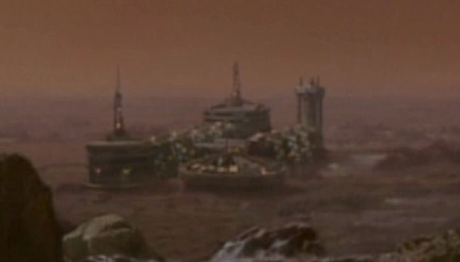Episode picture Martian City
