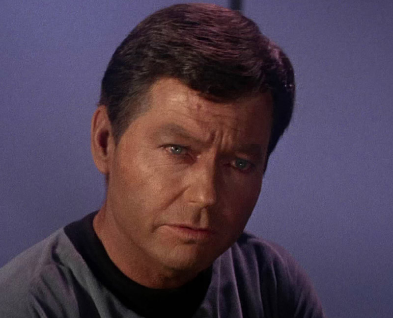 People picture Leonard H. McCoy