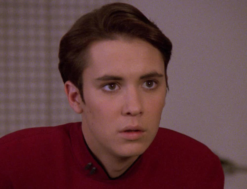 People picture Wesley Crusher