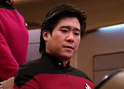 Ensign Kenny Lin