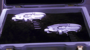 Starship internals Phase Weapons Pistol
